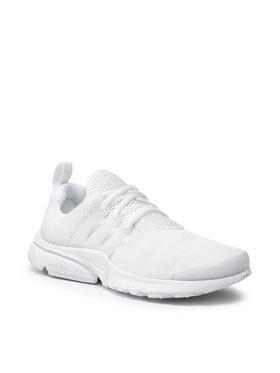 Nike Nike Chaussures Presto (Gs) 833875 100 Blanc
