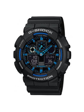 G-Shock G-Shock Часовник GA-100-1A2ER Черен