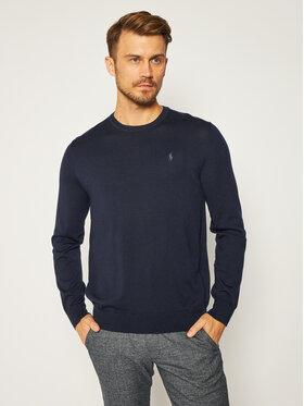 Polo Ralph Lauren Polo Ralph Lauren Пуловер Ls Sf Cn Pp 710714346002 Тъмносин Slim Fit