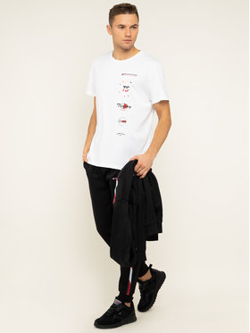 Tommy Sport Tommy Sport Тишърт Graphics S20S200316 Бял Regular Fit