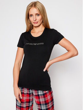 Emporio Armani Underwear Emporio Armani Underwear T-Shirt 163139 0A263 00020 Czarny Slim Fit