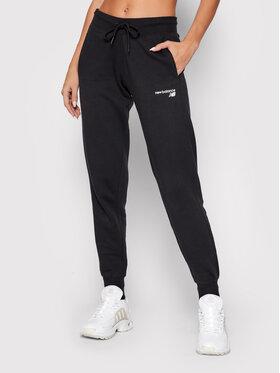 New Balance New Balance Παντελόνι φόρμας Classic Core Fleece Μαύρο Athletic Fit