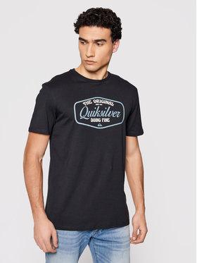 Quiksilver Quiksilver T-Shirt Cut To Now Ss EQYZT06377 Czarny Regular Fit