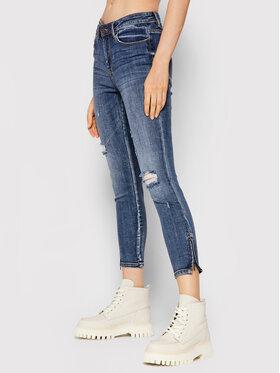 Vero Moda Vero Moda Blugi Tilde 10248143 Bleumarin Skinny Fit