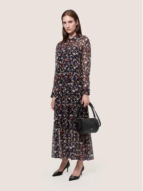 Hugo Hugo Každodenní šaty Kalevas-1 50439078 Černá Regular Fit