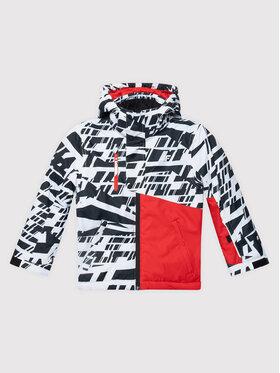 4F 4F Μπουφάν για σκι JKUMN002 Λευκό Regular Fit