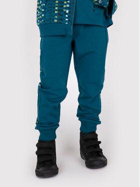 Coccodrillo Coccodrillo Spodnie dresowe ZC1120101REM Zielony Regular Fit