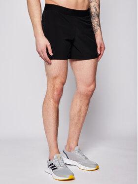 Asics Asics Pantaloni scurți sport Road 5In 2011A769 Negru Regular Fit