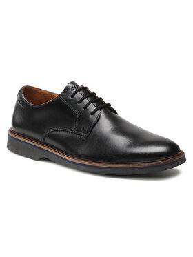Clarks Clarks Pantofi Malwood Plain 261595677 Negru