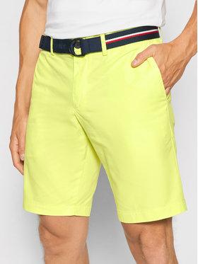 Tommy Hilfiger Tommy Hilfiger Kratke hlače Brooklyn Light Twill MW0MW18828 Žuta Regular Fit