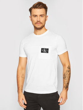 Calvin Klein Jeans Calvin Klein Jeans T-shirt J30J315612 Bianco Regular Fit
