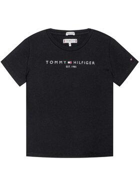 TOMMY HILFIGER TOMMY HILFIGER Тишърт Essential Tee KG0KG05512 Черен Regular Fit