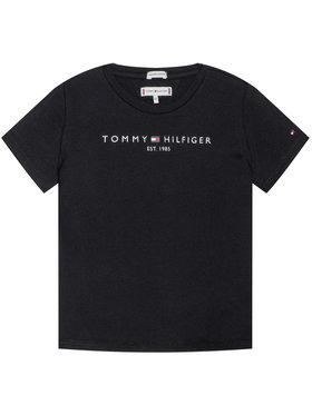 TOMMY HILFIGER TOMMY HILFIGER Tričko Essential Tee KG0KG05512 Čierna Regular Fit
