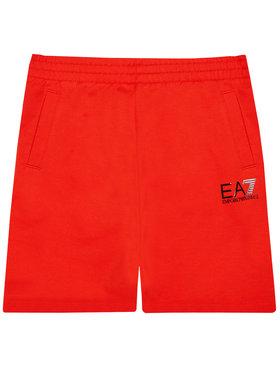 EA7 Emporio Armani EA7 Emporio Armani Sportovní kraťasy 3KBS51 BJ05Z 1485 Červená Regular Fit