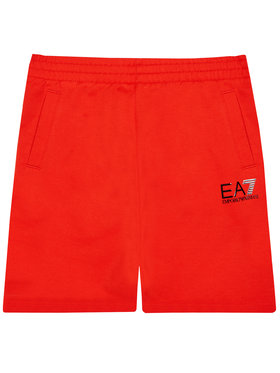EA7 Emporio Armani EA7 Emporio Armani Szorty sportowe 3KBS51 BJ05Z 1485 Czerwony Regular Fit