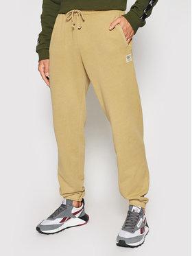 Reebok Reebok Spodnie dresowe Classics Natural Dye GV3472 Brązowy Relaxed Fit