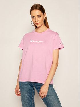 Champion Champion T-shirt Tee 113599 Violet Regular Fit
