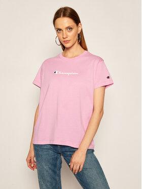 Champion Champion T-Shirt Tee 113599 Violett Regular Fit