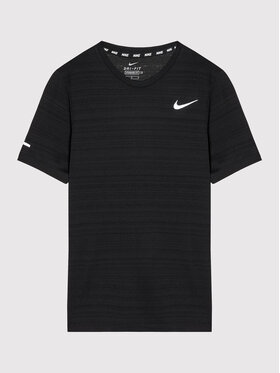 Nike Nike Technisches T-Shirt Miler DD3055 Schwarz Regular Fit