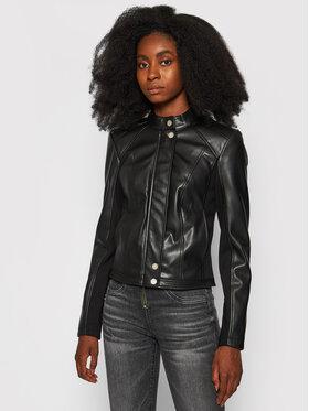 Guess Guess Veste en simili cuir Flammetta W1YL05 WE9X0 Noir Regular Fit