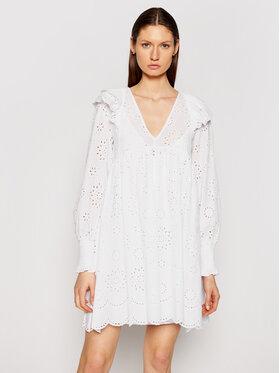 TwinSet TwinSet Φόρεμα καλοκαιρινό 211TT2591 Λευκό Regular Fit