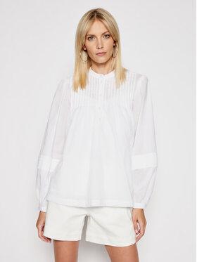 MICHAEL Michael Kors MICHAEL Michael Kors Блуза MS1402V4YJ Бял Regular Fit