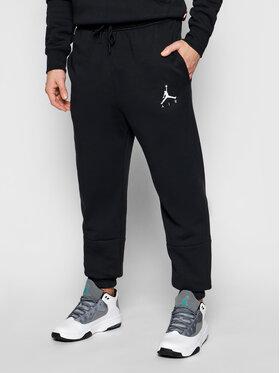 Nike Nike Spodnie dresowe Jordan Jumpman Air CK6694 Czarny Standard Fit