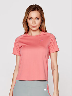 Asics Asics Techniniai marškinėliai Icon Ss 2012B044 Rožinė Regular Fit