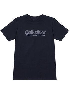 Quiksilver Quiksilver T-Shirt New Slang EQBZT04143 Tmavomodrá Regular Fit