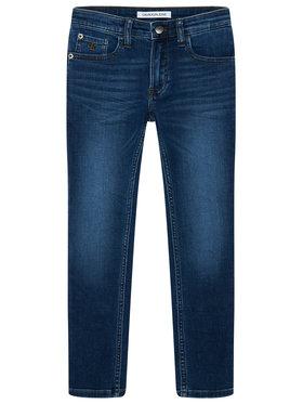 Calvin Klein Jeans Calvin Klein Jeans Džinsai IB0IB00505 Tamsiai mėlyna Slim Fit