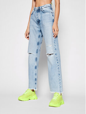 Pepe Jeans Pepe Jeans Дънки Robyn PL204119 Син Straight Fit