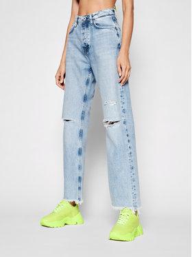 Pepe Jeans Pepe Jeans Džinsai Robyn PL204119 Mėlyna Straight Fit