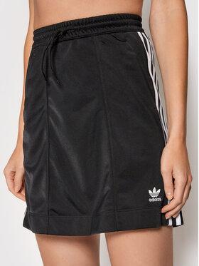 adidas adidas Mini sukně adicolor Classics Tricot H37774 Černá Regular Fit