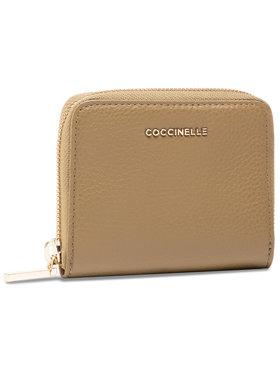 Coccinelle Coccinelle Malá dámská peněženka HW5 Metallic Soft E2 HW5 11 A2 01 Zelená