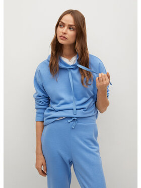 Mango Mango Bluză Maximeb 87054033 Albastru Regular Fit
