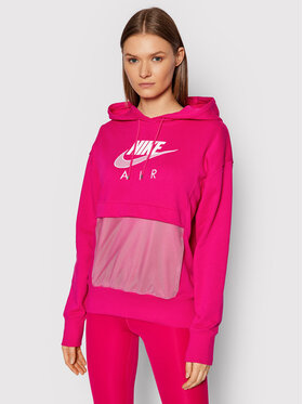 Nike Nike Суитшърт Sportswear Air CZ8620 Розов Oversize