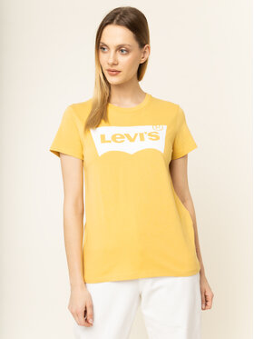 Levi's® Levi's® T-shirt The Perfect Graphic Tee 17369-0778 Giallo Regular Fit