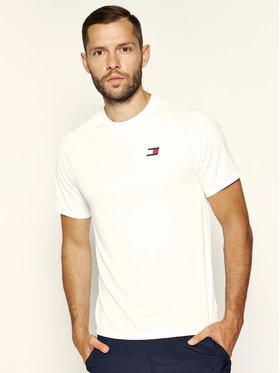 Tommy Sport Tommy Sport T-shirt Crew Neck S20S200267 Bijela Regular Fit