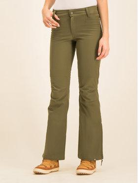 Roxy Roxy Pantaloni pentru snowboard Creek ERJTP03089 Verde Skinny Fit