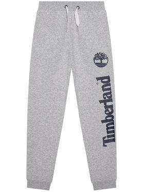 Timberland Timberland Pantaloni da tuta T24B05 S Grigio Regular Fit