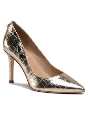 Guess Guess Pantofi cu toc subțire Dafne4 FL5DAF LEM08 Auriu