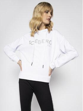 Iceberg Iceberg Mikina 20EI2P0E0416302 Biela Regular Fit