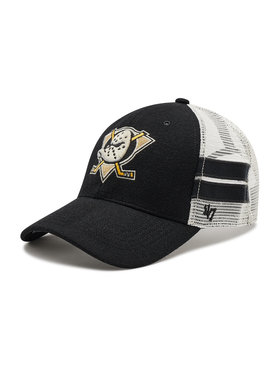 47 Brand 47 Brand Шапка с козирка Anaheim Ducks H-WILIS25WMP-BK Черен