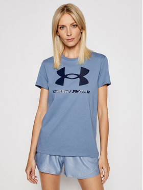 Under Armour Under Armour Тишърт UA Sportstyle Graphic 1356305 Син Loose Fit