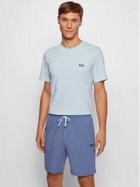Boss Boss Pantaloni scurți sport Mix&Match 50383960 Albastru Regular Fit