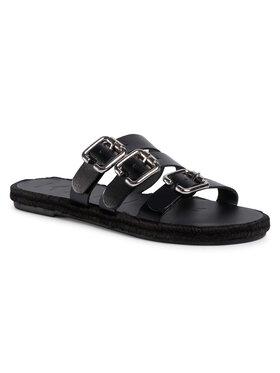 Manebi Manebi Espadrilės Leather Sandals S 2.1 Y0 Juoda