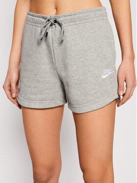 Nike Nike Szorty sportowe Sportswear Essential CJ2158 Szary Standard Fit