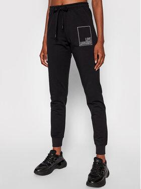 LOVE MOSCHINO LOVE MOSCHINO Спортивні штани W142423E 2269 Чорний Regular Fit