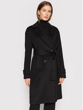 Liu Jo Liu Jo Gyapjú kabát CF1012 T8524 Fekete Regular Fit