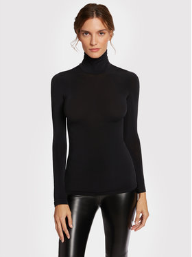 Wolford Wolford Rolák Buenos Aires 58247 Čierna Slim Fit